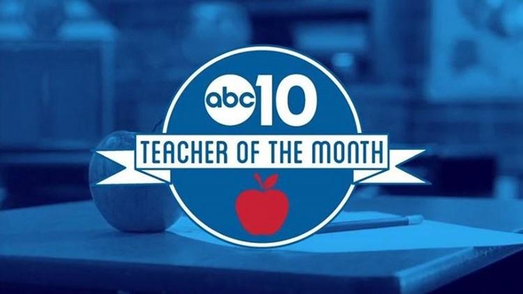 April 2021: Christina Coppola is ABC10's Teacher of the Month