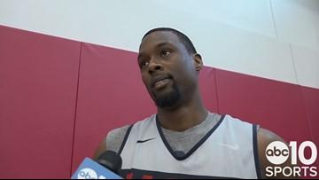 Kings F Harrison Barnes on playing for USA Basketball, De'Aaron Fox addition to national team