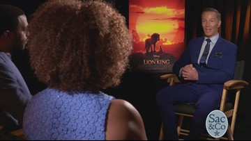Mark S Allen is giving us an inside look at the new Lion King!