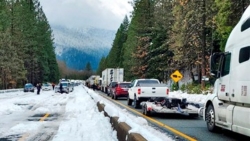 Caltrans closes 3 more Sierra Nevada passes for the winter