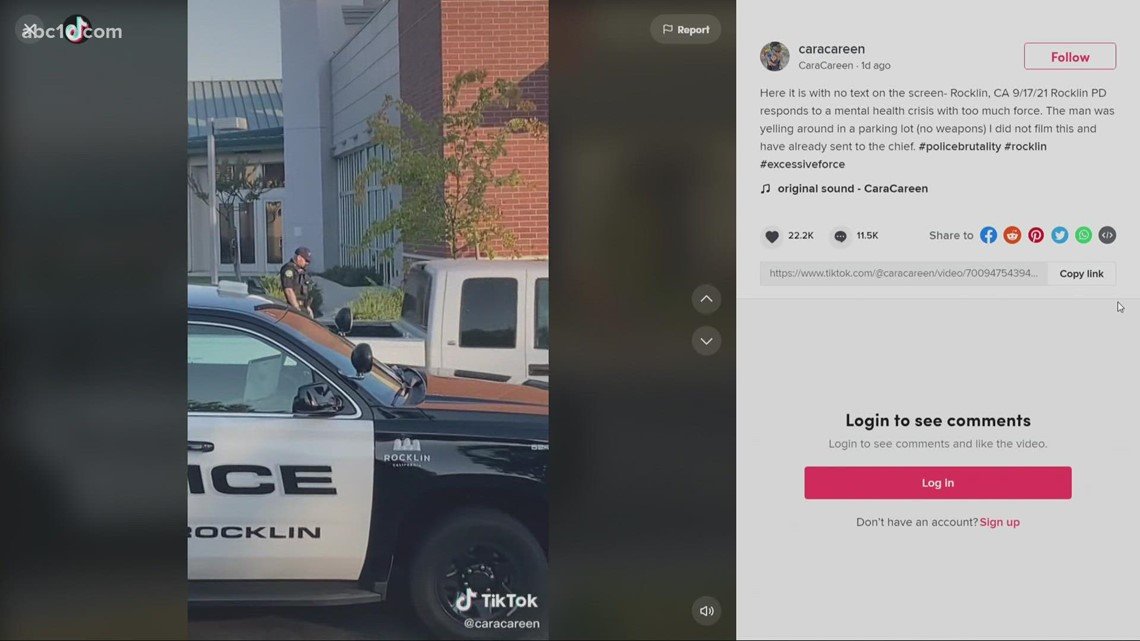 Video of Rocklin arrest to be reviewed by police department and more   Sept. 20, 2021
