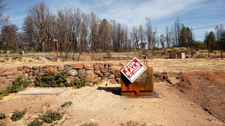 Burned affordable housing Paradise