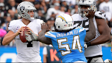 Rivers throws for 339 yards, 2 TDs as Chargers beat Raiders
