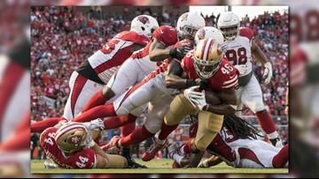 Cardinals beat 49ers 28-18 for 1st win of season
