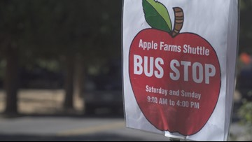 Apple Hill farmers hurting from shuttle service, closure of Carson Road