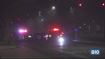 Procession for slain Davis Police Officer Natalie Corona