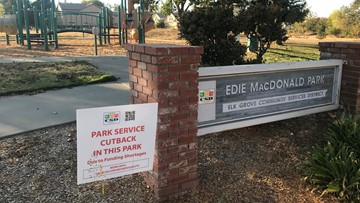 Elk Grove parks browning out due to funding shortages, service reductions