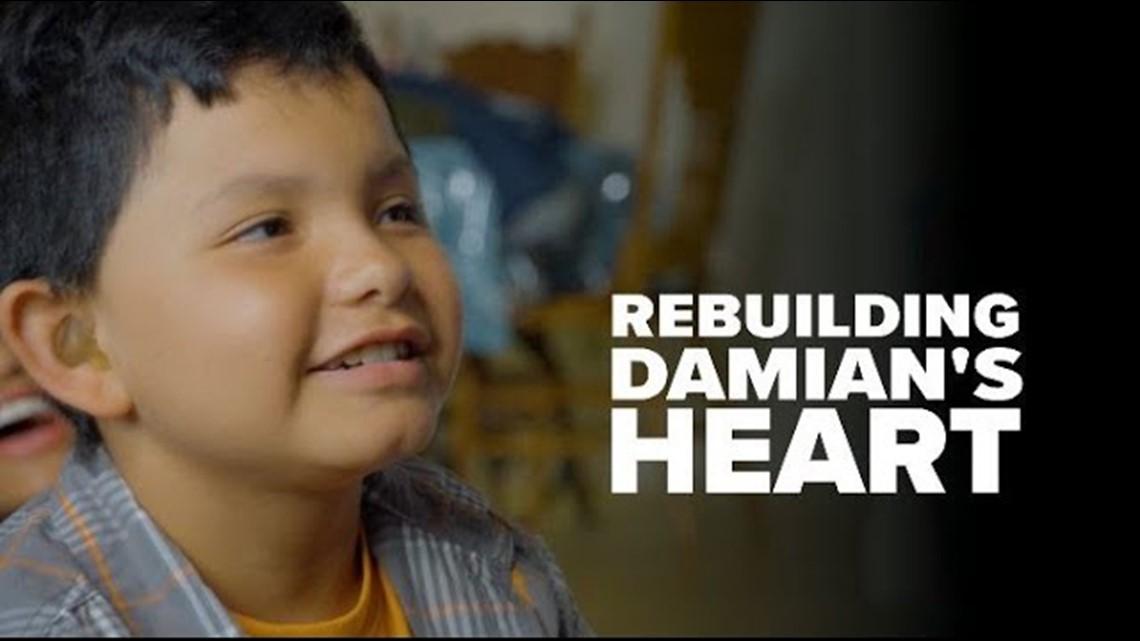 Rebuilding Damian's Heart