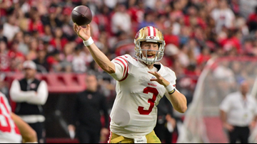 C.J. Beathard throws TD in 49ers loss to Cardinals 18-15