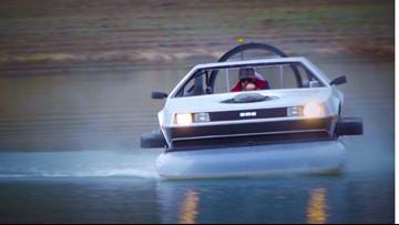 Great Scott! California man selling homemade 'DeLorean' hovercraft