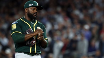 Athletics exercise 2019 option on RHP Fernando Rodney