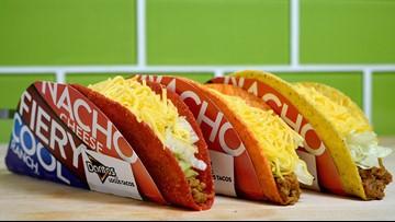 Taco Bell gives away free Doritos Locos Tacos today