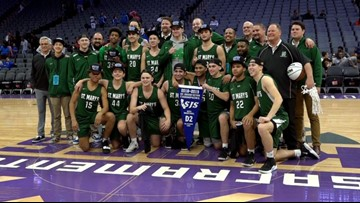 St. Mary's Rams edge Grant Pacers again in Boys D-II Section title rematch