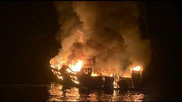 Widow sues boat owner in Santa Barbara dive boat fire that killed 34 people