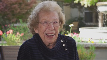 99-year-old Roseville woman encourages others to vote