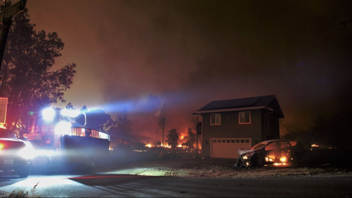 Camp Fire: Town of Paradise 'pretty much destroyed' fire