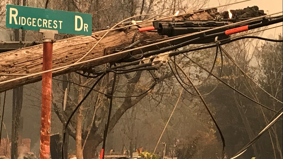 Camp Fire: Latest map and road closures in Butte County, California