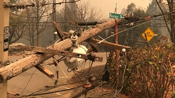 Camp Fire: Latest map and road closures in Butte County