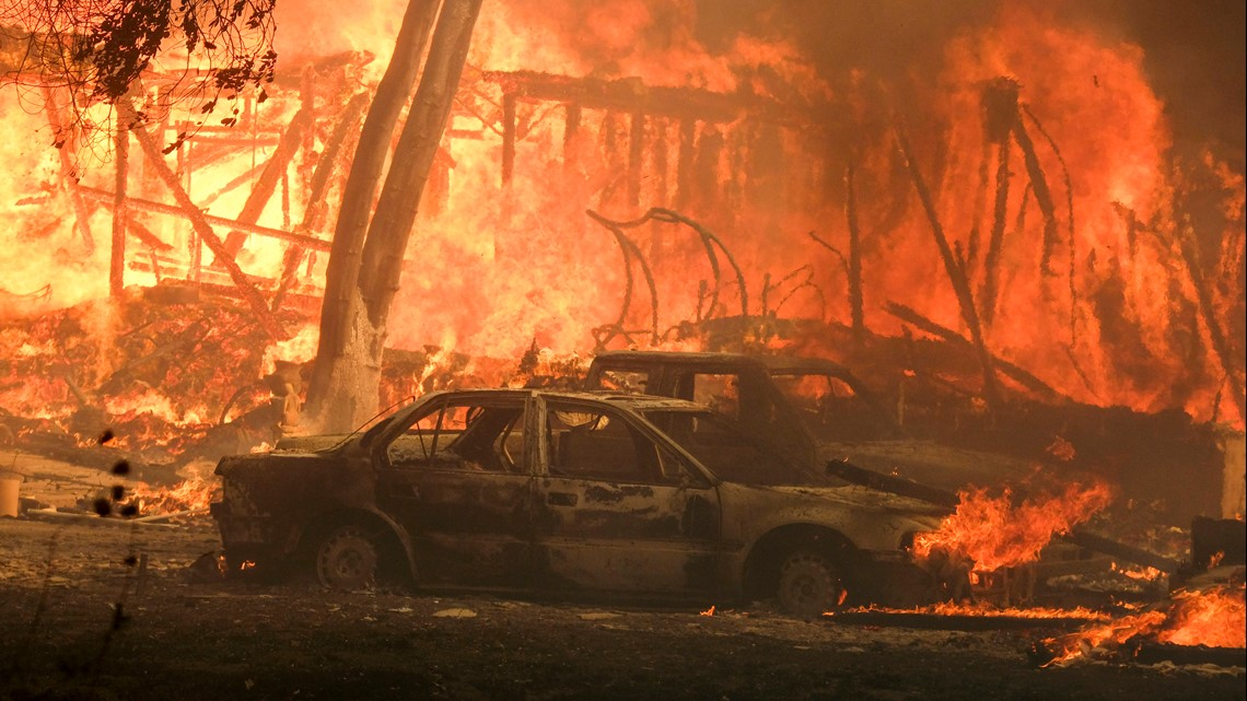 Oakland Gas Prices >> Woosley Fire: Latest fire map and road closures in Malibu ...