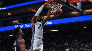 Kings come on strong late to beat Timberwolves 121-110