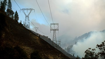 Camp Fire growth slows as winds ease up Monday