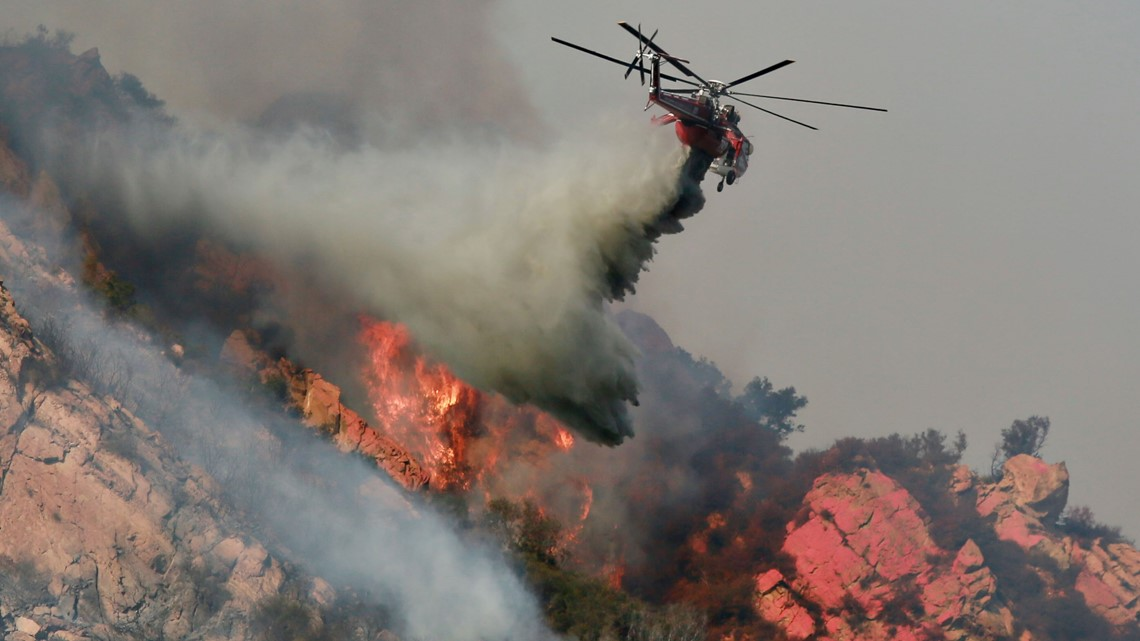 Fire Map And Road Closures In Malibu And Thousand Oaks Woolsey