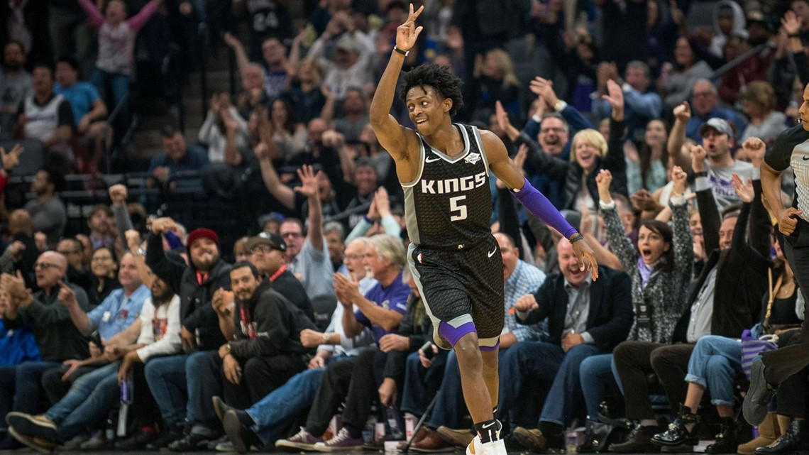 Kings hold on to end 14-game losing streak to Spurs