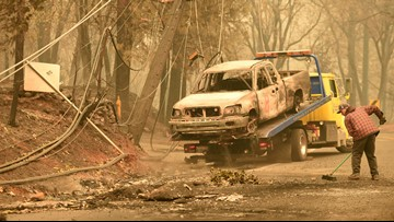 Road closures and fire maps in Chico and Butte County | Camp Fire