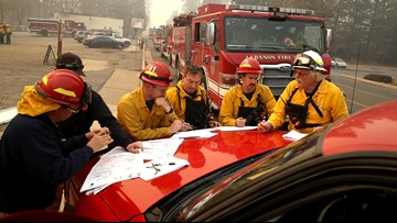 Camp Fire: The local police and firefighters who responded to the deadliest wildfire
