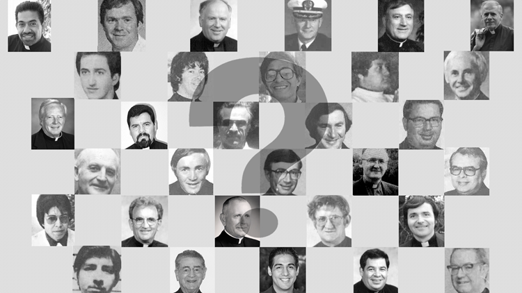 List of credibly accused clergy with photographs
