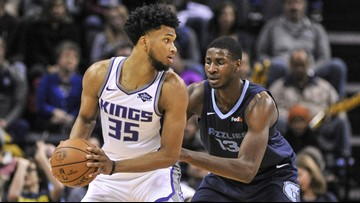 Jackson, Gasol lead Grizzlies past Kings 112-104