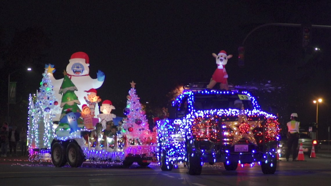 Modesto Christmas Parade 2019 Need to Know: Modesto's Celebration of Lights Parade | abc10.com