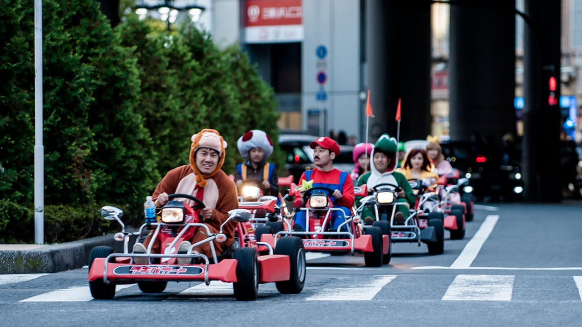 Gas Prices In California >> Tickets to compete in live-action Mario Kart race in ...