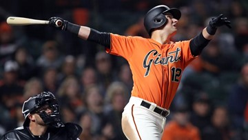 Giants Joe Panik, Sam Dyson reach agreement on 1-year deals
