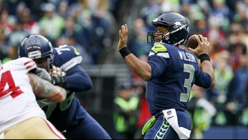 Wilson's big day leads Seahawks past 49ers 43-16