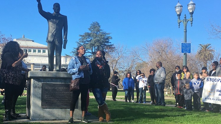 Stockton MLK Jr. marchers say more work needs to be done for equality in the country