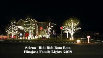 EXCLUSIVE: Meet the family behind the viral 'Selena' Christmas Light show