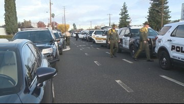 Deputy Hinostroza: Law enforcement from across California pays respects at funeral