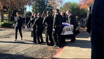 Fallen Sheriff's Deputy Tony Hinostroza laid to rest in Stanislaus County