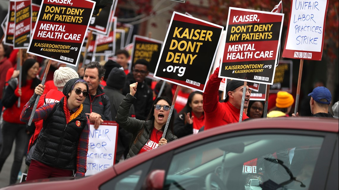 Kaiser Permanente Mental Health Employees Strike Need To Know
