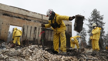 Camp Fire debris will be removed in two phases. Here's what you need to know.