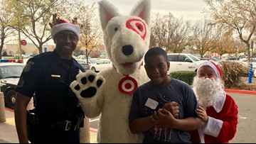 45 Sacramento kids shopped with a cop, $100 at Target goes a long way