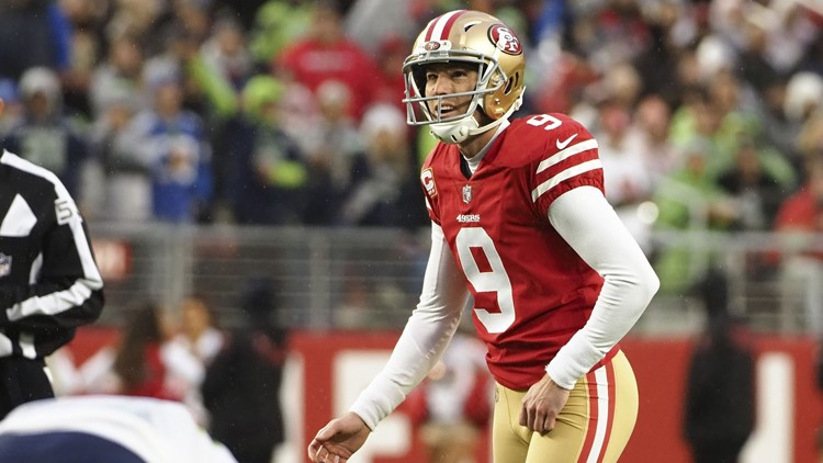 Gould's FG in OT helps 49ers snap 10-game skid vs. Seahawks