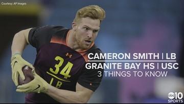Cameron Smith – NFL draft 2019 prospect – LB
