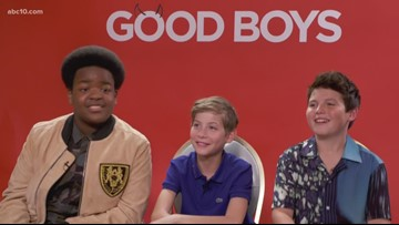 'The Good Boys' sit down for a chat with Mark S. Allen