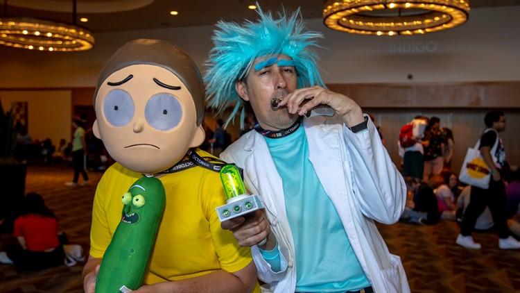 Rick Morty costumes generic