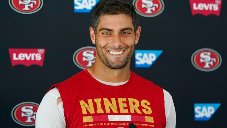 Garoppolo back as starter for 49ers after offseason intrigue