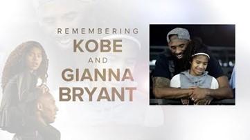 Kobe Bryant, daughter Gianna, honored at Staples Center during memorial
