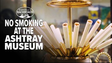 Bartell's Backroads: No smoking in Oroville's ashtray museum