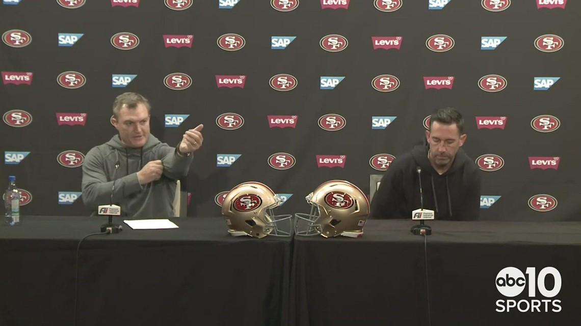 San Francisco 49ers GM John Lynch and HC Kyle Shanahan address QB situation ahead of 2021 NFL Draft